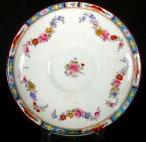 Picture of Crown Sutherland - 633 (Red Floral) - Platter