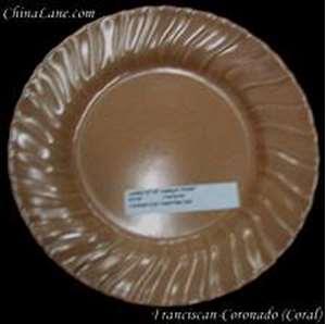 Picture of Franciscan - Coronado~ Coral (Matte) - Luncheon Plate