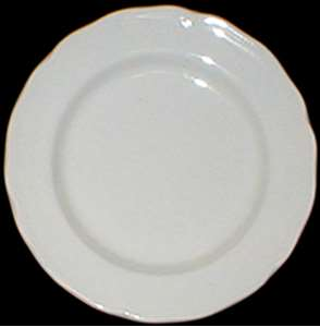 Picture of Meakin, J.G. - Heirloom ~ White - Dessert Plate