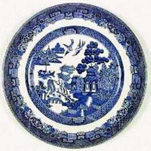 Picture of Johnson Brothers - Willow ~ Blue (Older) - Dinner Plate