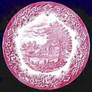 Picture of Grindley - Homeland~  Pink - Dessert Plate