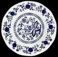 Picture of Wedgwood - Blue Onion - Bread Plate