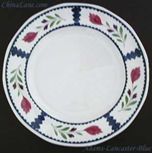 Picture of Adams - Lancaster ~ Blue Trim - Dinner Plate