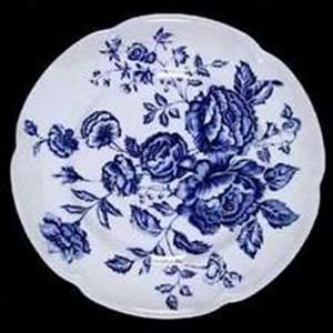 Picture of Johnson Brothers - Elizabeth ~ Blue on Blue - Dinner Plate