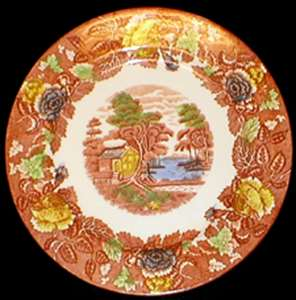 Picture of Nasco - Mountain Woodland - Bread Plate