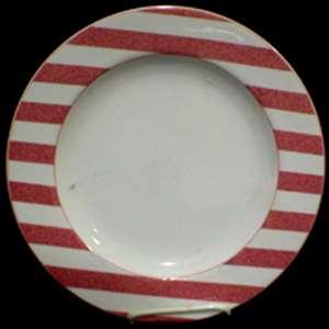 Picture of Christopher Stuart - Capri Rose Y0277 - Dinner Plate