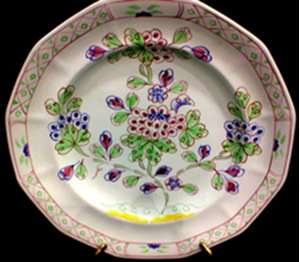 Picture of Adams - Old Bow - Luncheon Plate