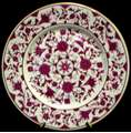 Picture of Franciscan - Lorraine ~ Maroon - Dinner Plate