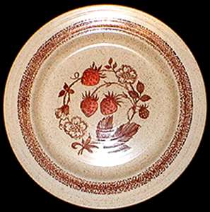 Picture of Churchill - Wild Strawberry - Dinner Plate