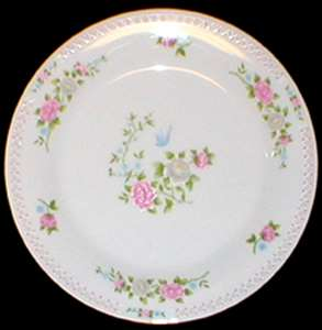 Picture of Crown Ming - Bird of Paradise - Platter~Small