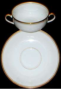 Picture of Fitz and Floyd - Palais ~ White (Japan) - Cream Soup Bowl