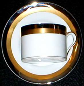 Picture of Fitz and Floyd - Platine D'or (Round) - Saucer