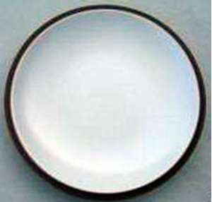 Picture of Dansk - Santiago White (Beige Background) - Salad Plate