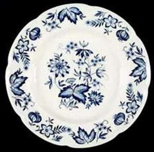 Picture of Johnson Brothers - Malvern ~ Blue - Dinner Plate
