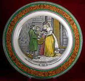 Picture of Adams - Cries of London - Luncheon Plate