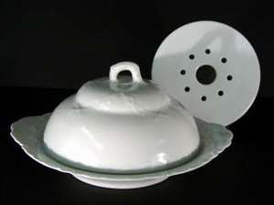 Picture of Haviland - Ranson ~ White (Schleiger #1) - Butter Dish