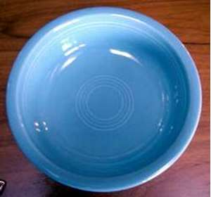 Picture of Homer Laughlin - Fiesta ~ Periwinkle Blue - Soup Bowl