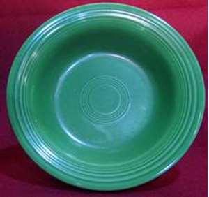 Picture of Homer Laughlin - Fiesta ~ Medium Green (Older) - Soup Bowl