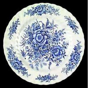 Picture of British Anchor - Beacon Hill~Blue - Saucer