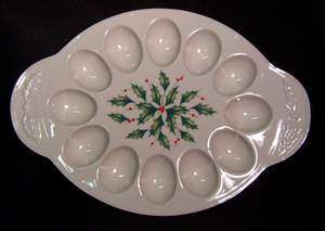 Picture of Lenox - Holiday - Egg Platter