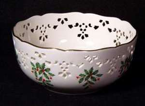 Picture of Lenox - Holiday - Pierced Bowl