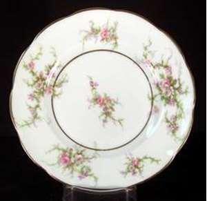 Picture of Haviland - Rosalinde ~ France - Bread Plate