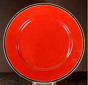 Picture of Fitz and Floyd - Hattori~Cinnabar - Dinner Plate