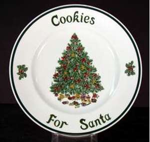 Picture of Johnson Brothers - Victorian Christmas - Cookie Plate