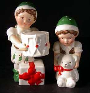 Picture of Lenox - Holiday - Elf Salt and Pepper