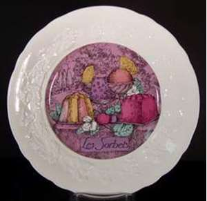 Picture of Gien - Les Delices - Salad Plate
