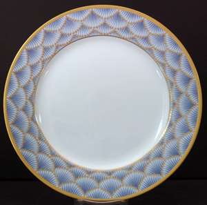Picture of Faberge - Coronation~Blue - Bread Plate