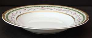 Picture of Faberge - Luxemburg~Green - Soup Bowl