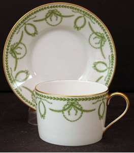 Picture of Faberge - Cheverney~Green - Cup and Saucer