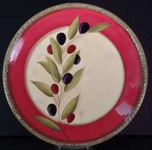 Picture of Clay Art - Antique Olive - Dinner Plate