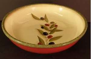 Picture of Clay Art - Antique Olive - Pasta Bowl