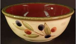 Picture of Clay Art - Antique Olive - Round Soup Bowl