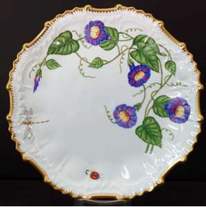 Picture of Anna Wetherley - Morning Glory - Dinner Plate