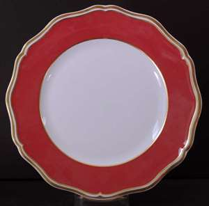 Picture of Raynaud - Polka~Red - Dinner Plate