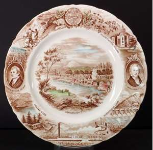 Picture of Johnson Brothers - States Plates - Dinner Plate