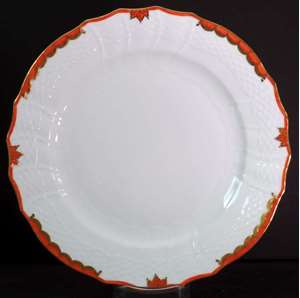 Picture of Herend - Princess Victoria~Rust - Service Plate