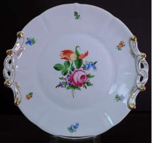 Picture of Herend - Printemps - Handled Round Dish