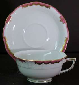 Picture of Herend - Princess Victoria~Pink - Cup and Saucer