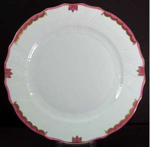 Picture of Herend - Princess Victoria~Pink - Dinner Plate