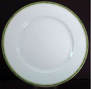 Picture of Haviland - Air De Paris~Vert - Dinner Plate
