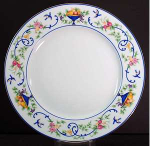 Picture of Haviland - Renaissance~Urns of Fruit - Bread Plate