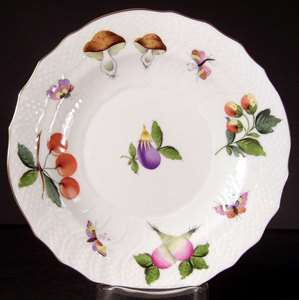 Picture of Herend - Fruits and Flowers - Salad Plate