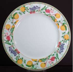 Picture of Haviland - Jardin D'Eden - Dinner Plate