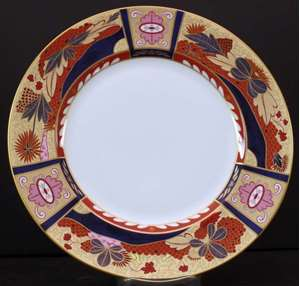Picture of Royal Worcester - Lord Nelson ( Anniversary Collection) - Bread Plate